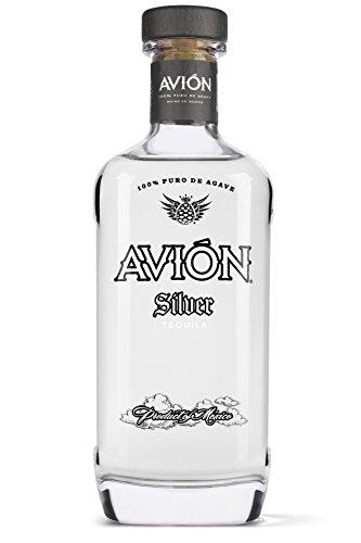 Avión Silver Tequila / Hochprozentige Spirituose aus 100% blauer Agave / Feinste Qualität mit besonders weichem und ausgewogenem Geschmack / 1 x 0,7 L