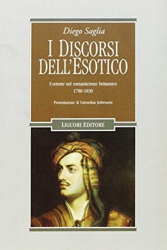 I Discorsi Dellesotico Loriente Nel Romanticismo Britannico 1780 1830