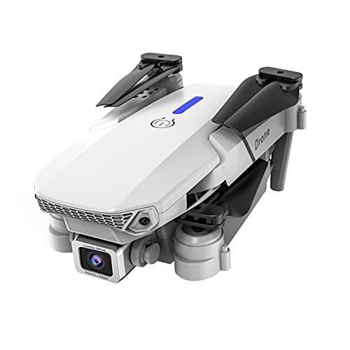 更新版wunancloa ドローン 1080P HDカメラ付き 初心者ドローン 収納ケース付き バッテリー ドローン 折り畳み式 360ロールオーバー リターンモード フォローミーモード オプティカルフロー 高度維持 ヘッドレスモード 高度維持 2.4GHz 初心者向Drone With HD Dual Camera