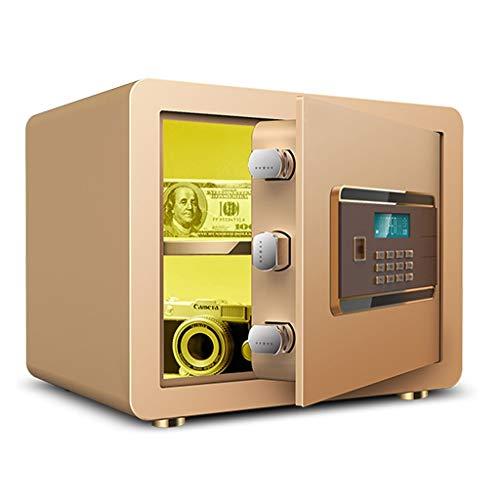 Tresore Sentry Safe Elektronischer Safe mit 20 mm Verriegelungsbolzen LCD-Bildschirm 38 * 30 * 30 cm - Gold Möbeltresore