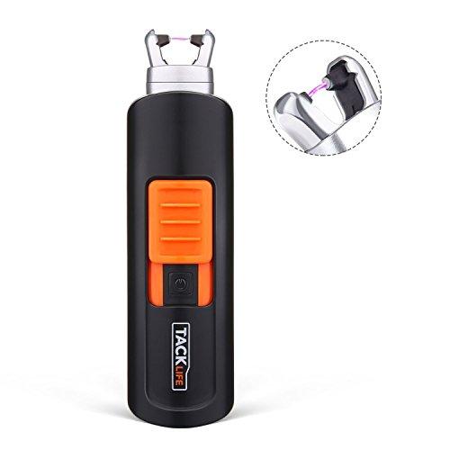 TACKLIFE Encendedor, ELY03 Mini Mechero Clásico Eléctrico, sin Llama ni Olor, Batería...