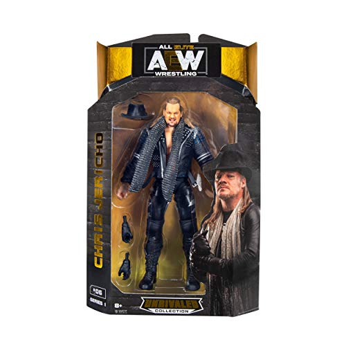 AEW JAZWARES – AEW0004 Unrivalled Collection – Chris Jericho – 16.5cm Wrestling Actionfigur