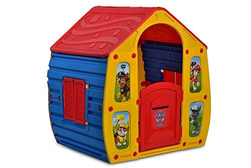 Outdoor Toys KSP10561-PP - Casita Infantil Patrulla Canina 102x90x109 cm