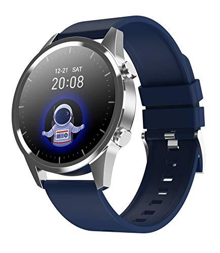LC.IMEEKE Smartwatch für Damen Herren, 1,28 Zoll Farbbildschirm Fitnessuhr Fitness Tracker Armband Uhr mit Pulsmesser Aktivitätstracker Pulsuhr Schrittzähler, IP67 Smart Watch Armbanduhr Sportuhr
