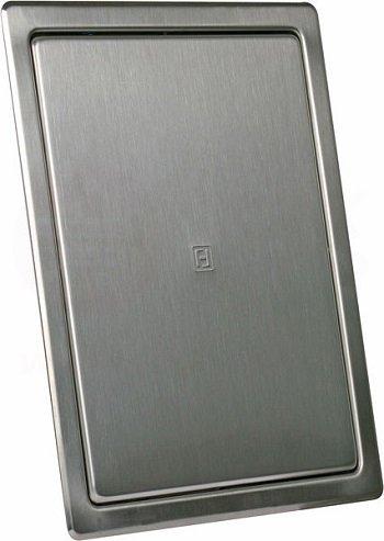 Revisonsklappe Wartungstür edelstahl 200 x 250 mm rostfrei Revision Wartung Inspektion Klappe Fliesentür Wartungs- Inspektionsklappe
