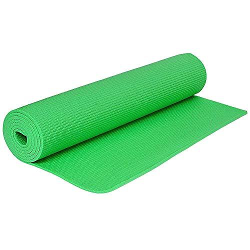 Strauss Yoga Mat, 4 mm, (Green)