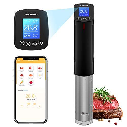 Inkbird ISV-100W Wi-Fi Sous Vide Aparato de Cocina Precisió