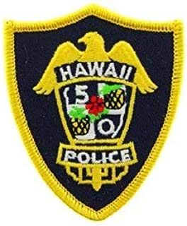 Police, Hawaii 5-O - Embroidered Patches, Premium Quality Iron On Patch - 3