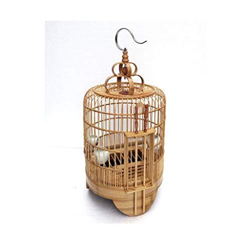 DHTOMC Birdcage Thrush la Jaula de pájaros Doble Seguridad Puerta Thrush Bird...