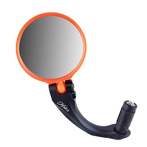 Dnliuw Quality Bike Bicycle Handlebar Flexible Rear Back View Rearview Mirror Safety YE