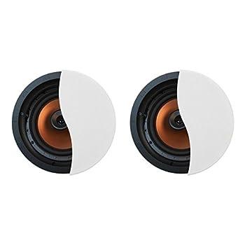 Klipsch CDT-5800-C II 8  in-Ceiling Pivoting Speakers - Pair  White