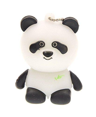 Pen Drive 32GB Memoria USB 2.0 Panda Divertida Flash Drive - Creativo Pendrive 32 GB Unidad Flash USB Regalo de Cumpleaños - FEBNISCTE Almacenamiento de Datos Llave USB para Infantil