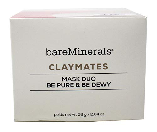 BareMinerals Claymates Be Pure & Be Dewy Mask Duo 58g/2.04oz