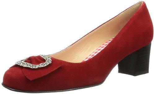 Diavolezza Damen Celine Pumps, Rot (Red), 39.5 EU