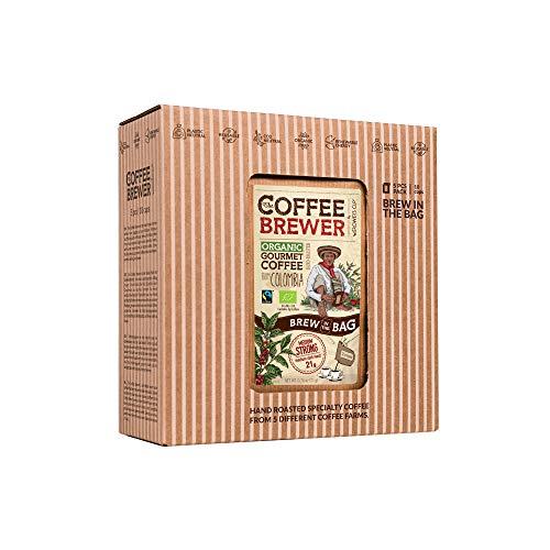 Innovative Kaffee Geschenk Set für Kaffeeliebhaber - Besondere Geburtstags Geschenkidee für Mann & Frauen | Fair Trade Coffee Probierset Aus Aller Welt | Gemahlen aus Spezialitäten Kaffeebohnen