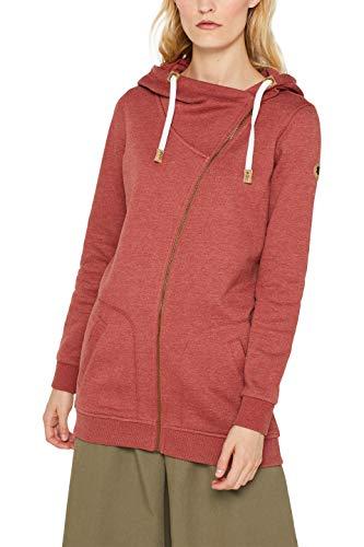 edc by ESPRIT Damen 099Cc1J006 Sweatshirt, Orange (Rust Orange 5 814), Small (Herstellergröße: S)