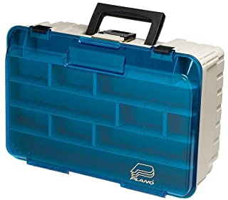 Plano Two Level Magnum 3500 Tackle Box, Beige, 1-(Pack)