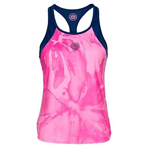 BIDI BADU Fleur Tech - Camiseta de Tirantes para Mujer, Mujer, Fleur...
