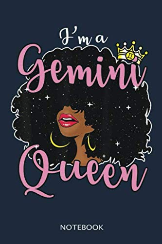 professional Gemini Notebook 100 pages 6×9 inch great gift idea: GEMINI ZODIAC – GEMINI HOROSCOPE Women