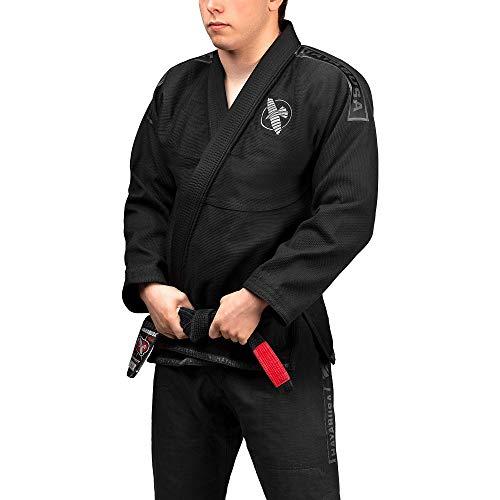 Hayabusa Lightweight Jiu Jitsu Gi - Black, A3