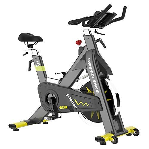 pooboo Indoor Stationary Exercise Bike Commercial Bike