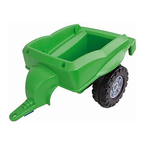 BIG Spielwarenfabrik 800056668 Big-Trailer Traktoranhänger, grün