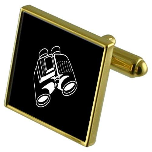 Select Gifts Binocolo Gold-tone gemelli in una custodia