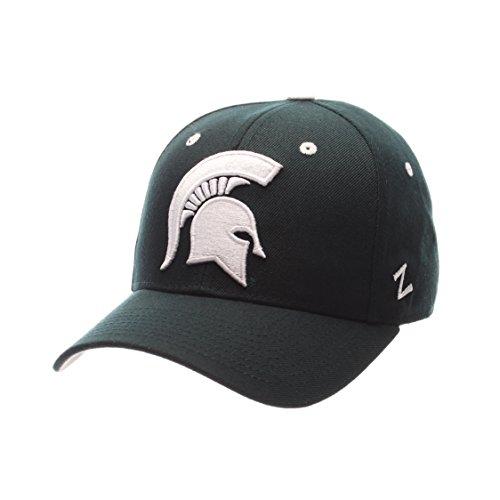Zephyr NCAA Michigan State Spartans Herrenmütze, Größe 7 3/8, Forest