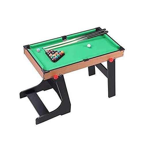 Bdesign Folding Billardtisch Kinder Eltern-Kind-Spielzeug Mini Kleine Billiard Innen Zuhause Junge Freizeit Unterhaltung Billardtisch Set