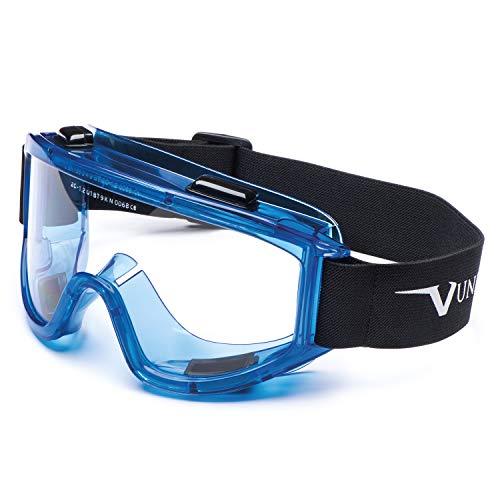 """Univet 601.02.77.00""""nº 601"""" gafas de seguridad con transparente cristal de policarbonato, color azul"""