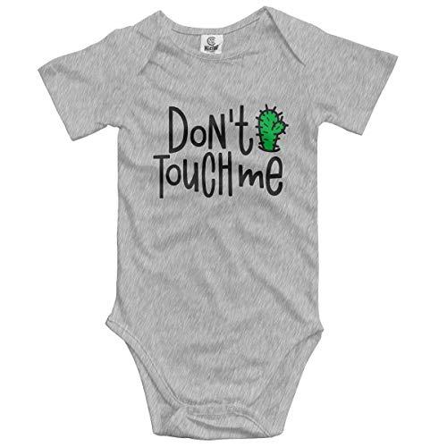 Lplpol Do Not Touch Me - Mono de algodón para bebé unisex para niñas, GK869, multicolor, 12 meses