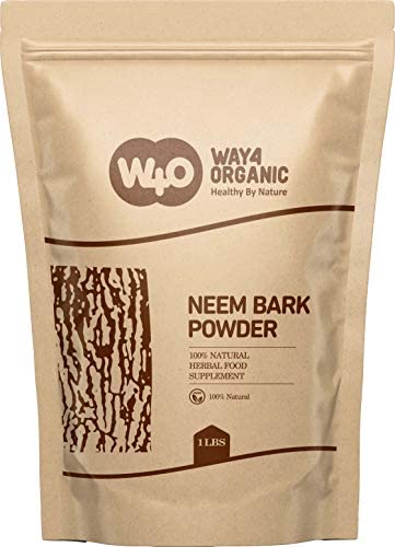 Neem Bark Powder 16 Oz 1 lb Dental and Digestion Support Tooth Powder Way4Organic product image