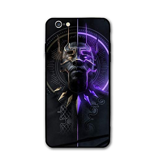 iPhone 6 Case 6s Case 4.7',Comics Case Plastic Cover for iPhone 6/6s(Black-Panther)