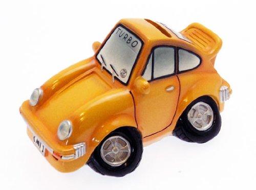 Sammler-Manschettenknöpfe Gelb-Turbo-Auto-Spardose,
