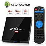 Android 9.0 TV Box [4GB RAM+32GB ROM], Superpow Android Box TV 4K, USB...