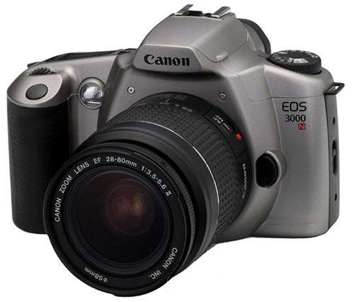 Canon EOS 3000N Spiegelreflexkamera inkl. Canon-Objektiv 28-80mm