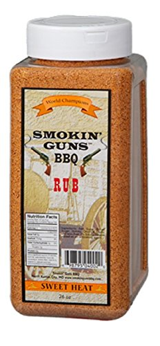 Condimento Smokin' Guns BBQ 'Sweet Heat' (Dulce Picante) - 737g (26 oz)