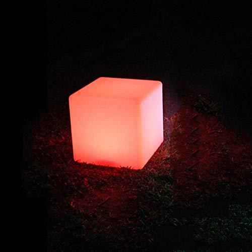 Ygetas Remote Controllo Intelligente Luminoso Decorativo pasti Bar Sgabello Impermeabile Indoor/Outdoor ha Condotto la Luce di Notte Sgabello del Partito della casa Illuminazione Decorativa Bedroom