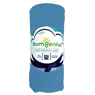 bumGenius Reusable Diaper Pail Liner - 26 x 30 - Fits Most Pails (Moonbeam)