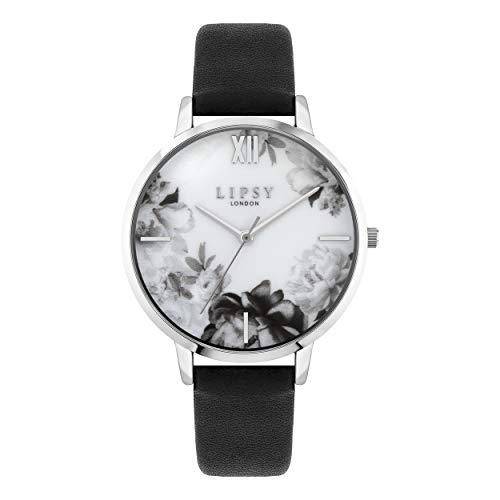 Lipsy Damen Analog Quarz Uhr mit PU Armband LP665