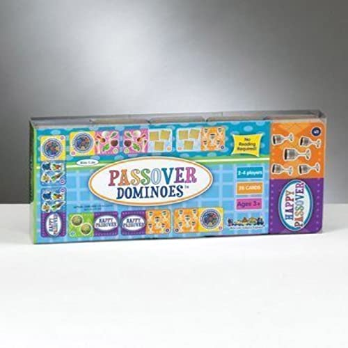 Rite Lite GAP-3 Passover Dominoes Game - Pack of 6 by Rite Lite