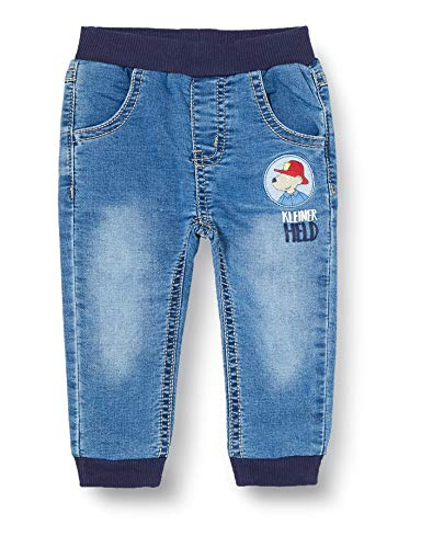 Salt & Pepper Baby-Jungen 05220123 Jeans, original, 80