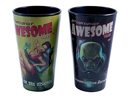 Just Funky Fallout Awsome Tales 16oz Pint Glass Set