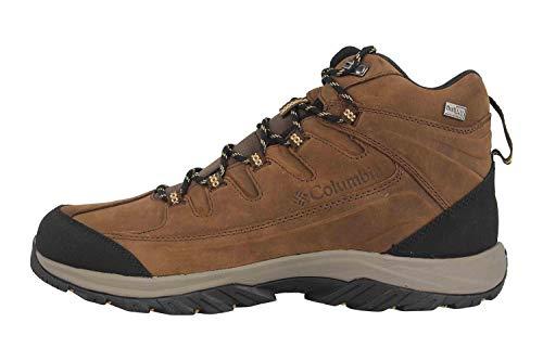 Columbia Terrebonne II Mid Outdry, Zapatillas de Senderismo Hombre, Marrón (Mud, Curry), 40 EU