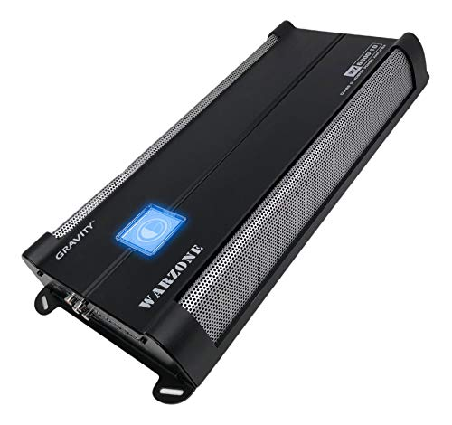 Car Amplifiers - Gravity Audio WZ6000.1D Warzone 6000W Class D Amp 1/2/4 Ohm Stable with Remote Sub Control