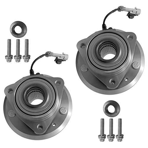 2x Radlager Radlagersatz mit integriertem ABS-Sensor Vorderachse links rechts
