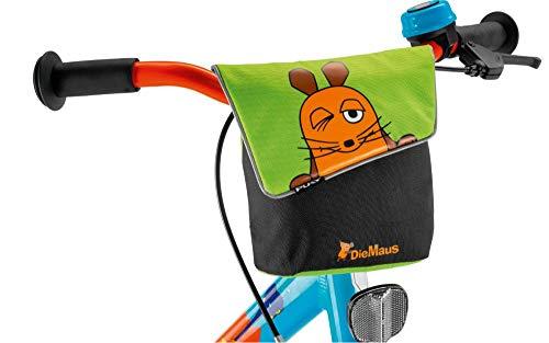 Puky LT 2 Kinder Fahrrad Lenkertasche Die Maus grÃŒn/schwarz