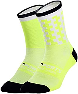 Calcetines deportivos transpirables para bicicleta de carretera