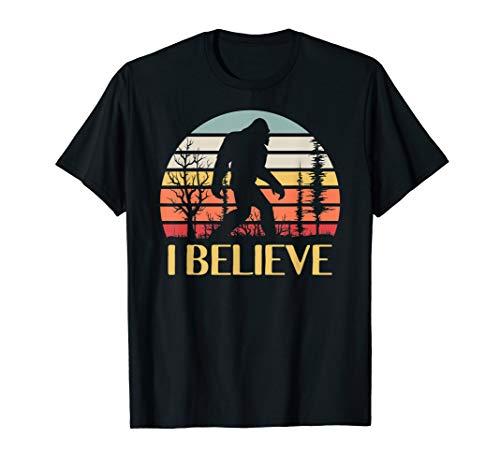 Believe Bigfoot I Believe in Bigfoot Gifts T-Shirt