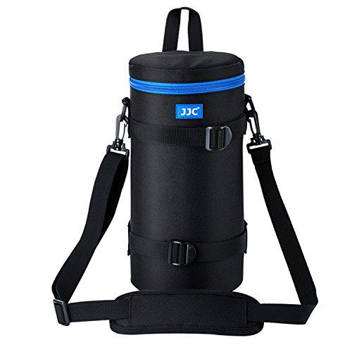 JJC DLP-7II Water Resistant Deluxe Lens Pouch Bag Case for Nikon AF-S NIKKOR 200-500mm F5.6E ED VR/Sigma 150-500mm F5-6.3/ Sigma 150-600mm F5-6.3 DG OS HSM/Tamron SP 150-600mm F5-6.3 Di VC USD G2